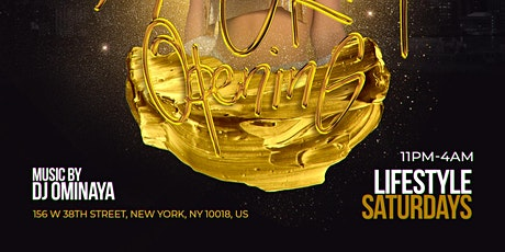 LifeStyle Saturdays   Open Bar + Free Entry tickets