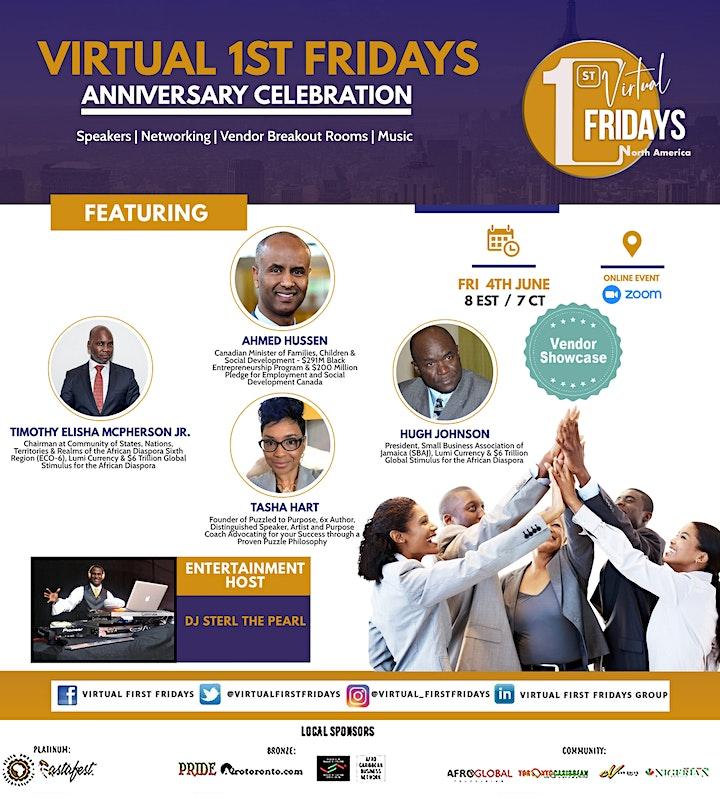 Virtual 1st Fridays Anniversary Celebration image