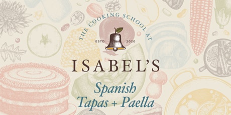 Cooking Classes with Sue Chef: Spanish Tapas + Paella tickets