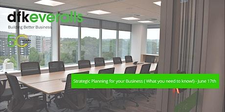 Strategic Planning Boardroom Briefing tickets