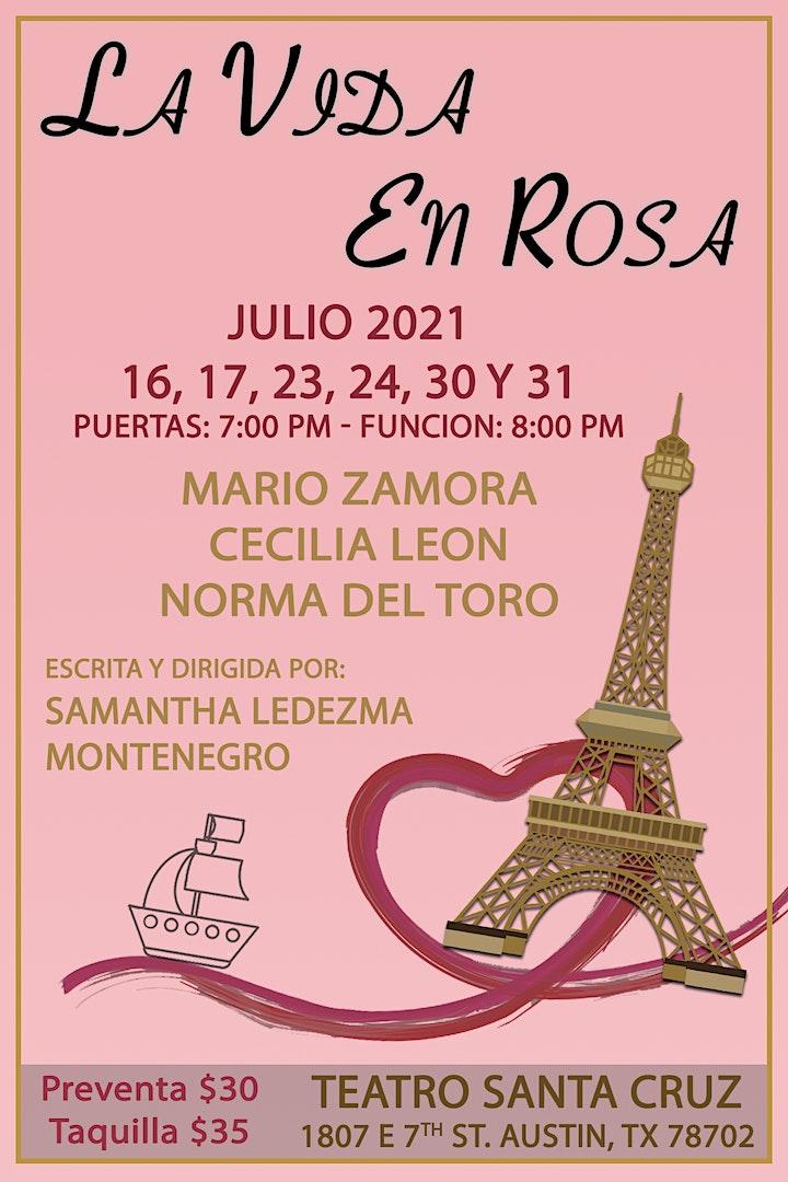 CreArte Producciones presenta: La Vida en Rosa image