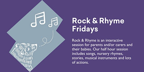 Rock and Rhyme Fridays @ Kingston Library tickets