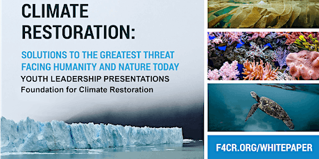Planning - Youth for Climate Restoration, Southern Oceans Presentations tickets