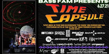 Bass Fam Presents TIME CAPSULE at Myth Nightclub | Sunday, 06.27.21 tickets