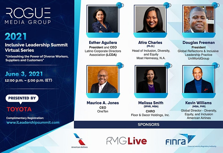RMG's 4th Annual Inclusive Leadership Summit Virtual presented by Toyota image