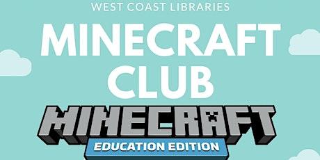 Minecraft Club @ Queenstown Library tickets