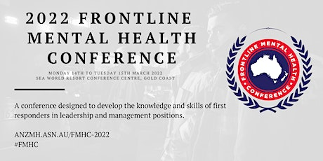 2022 Frontline Mental Health Conference tickets