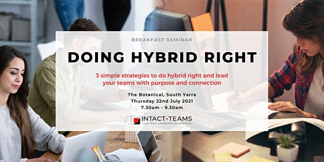 Doing Hybrid Right- Business Breakfast tickets