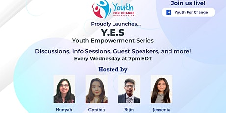 YES - Youth Empowering Series tickets