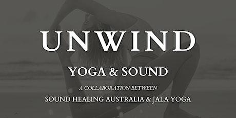 UNWIND : Yoga & Sound tickets