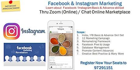 Facebook & Instagram Masterclass tickets