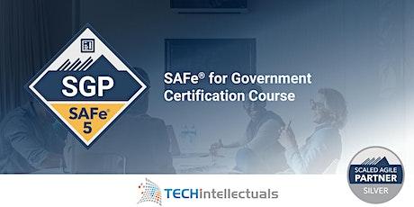 SAFe for Government  - SAFe SGP - Live Online Training tickets