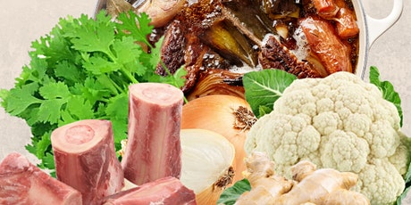Beef Bone Broth Cooking - Gut Healing Cooking Series by Shima tickets