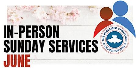 1st Service - Sunday Services - June 2021 tickets