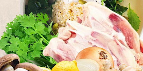 Chicken Bone Broth Cooking - Gut Healing Cooking Series by Shima tickets