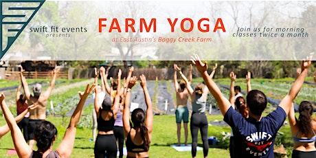 Farm Yoga at Boggy Creek tickets