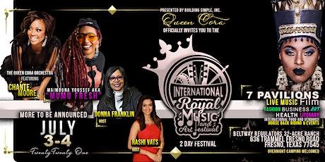 THE INTERNATIONAL ROYAL MUSIC & ART FESTIVAL [VENDORS] tickets
