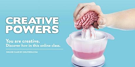 Creative Powers biglietti