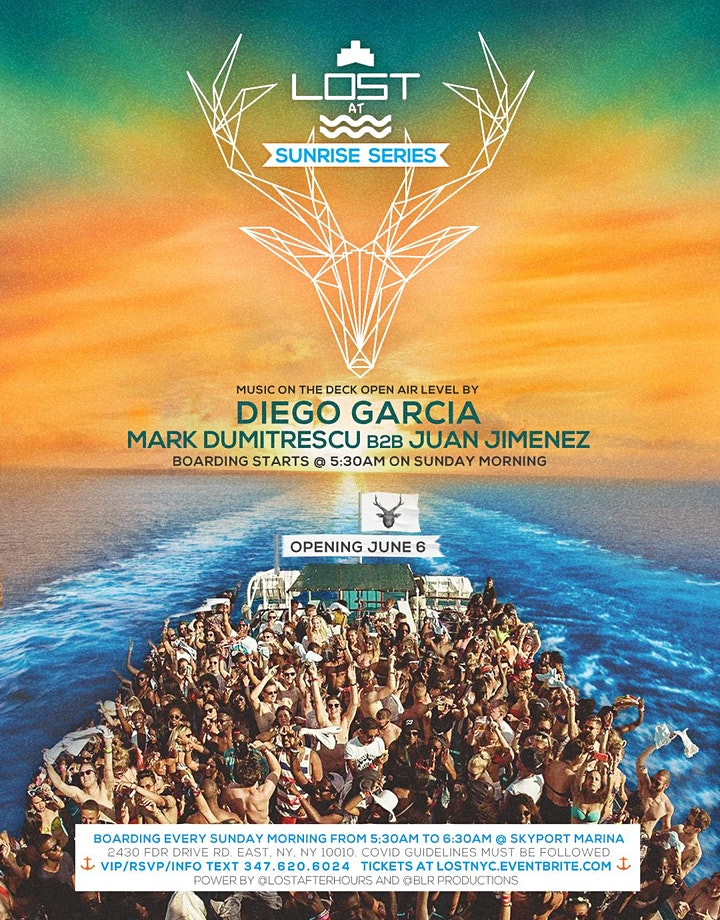 LOST at Sea [  Sunrise Sessions 2021 with Diego Garcia/ Marc D b2b Juan J] image
