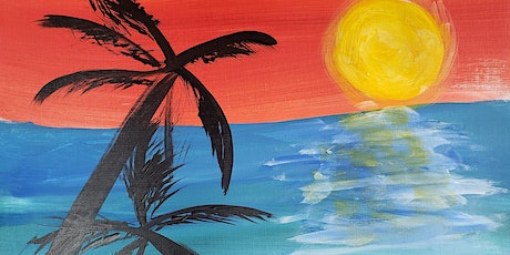 Virtual Painting Class - Palm Trees tickets