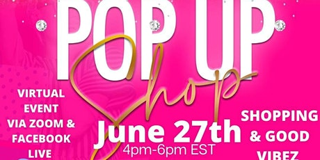 Virtual Pop-Up Shop ! Connect, Shop, & Mingle With Us! tickets