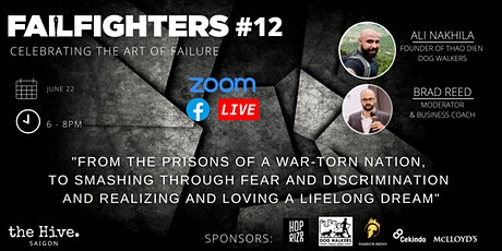 FailFighters #12: Smashing Through Discrimination To Realise Your Dream tickets