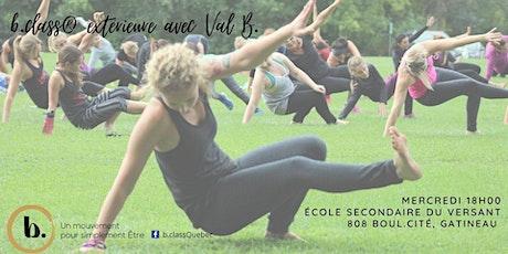 b.class® extérieure les mercredis 18h00 avec Valérie Brazeau tickets
