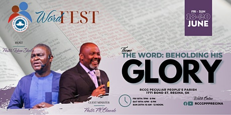 WordFest 2021 -  The Word: Beholding His Glory tickets