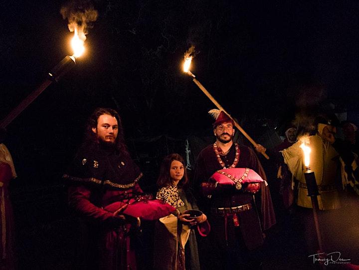14th Century Knighting Ceremony image
