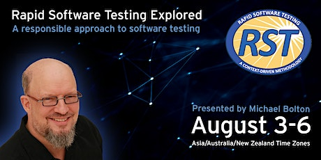 Rapid Software Testing Explored Online (for Asia/Australia/New Zealand) tickets
