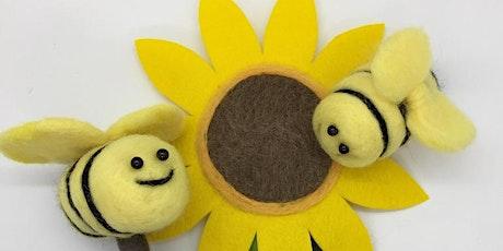 Kids Buzzy Bee & Sun Flower Workshop tickets