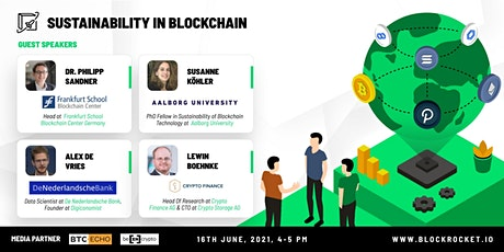 Sustainability in blockchain tickets