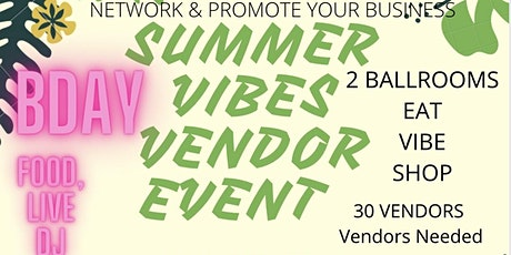Summer Vibes  Networking Event tickets