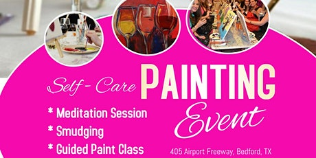 Paint & Sip Self- Care Sunday tickets