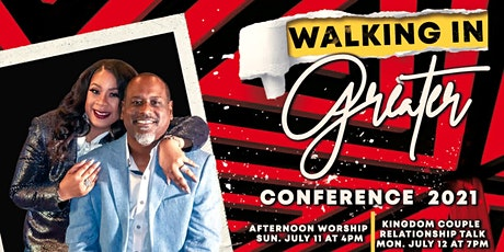 Walking in Greater Conference 2021 boletos