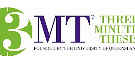 3MT UQ Diamantina Institute  Heat 2021 tickets