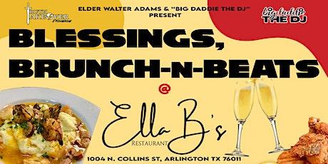 SPECIAL EDITION: Blessings, Brunch-N-Beats @ ELLA B's boletos