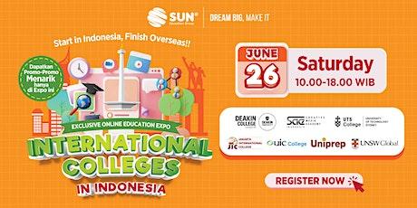 International College Expo - 26 Juni 2021 Tickets