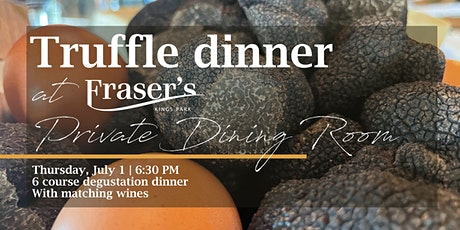 Fraser's Annual Truffle Dinner  |  Private Dining Room tickets