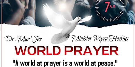 World Prayer | Saturdays | A World At Prayer Is A World At Peace tickets