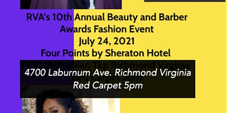 RVA'S 10th Annual Beauty and Barber Awards Fashion Event tickets