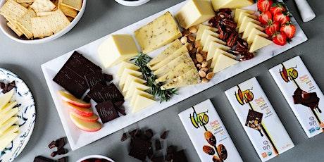 Cheese & Chocolate Tasting with Beecher's Handmade Cheese & Theo Chocolate tickets