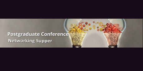 UNE Postgraduate Conference Networking Supper tickets