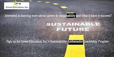Sustainability Ambassador Leadership Program tickets