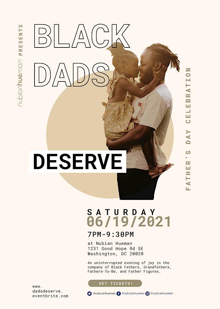 Black Dads Deserve: A Father's Day Celebration image