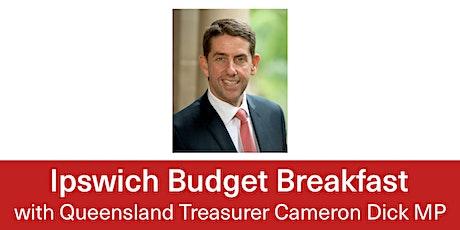 2021 Budget Breakfast with Queensland Treasurer Cameron Dick MP tickets