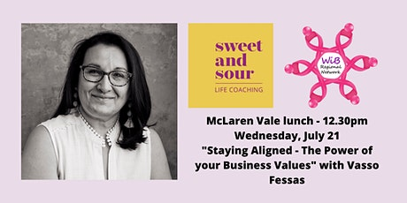 McLaren Vale lunch - Women in Business Regional Network - Wed 21/7/2021 tickets