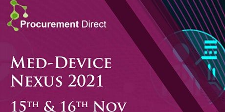 Med-Device Nexus 2021 tickets