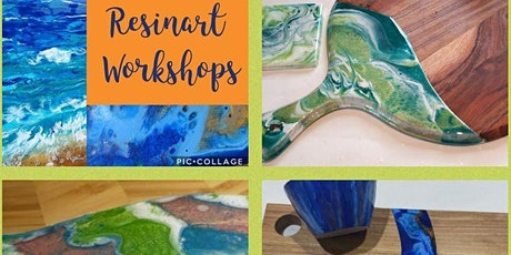 Creative Beginnings - Resin Art Workshop - Lazy Susan tickets