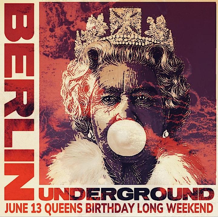 Berlin Underground Queens Birthday Sunday Long Weekend image